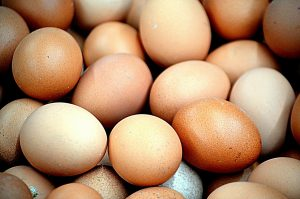 Fresh Eggs supplied by T H Brown